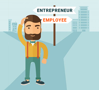 Employee or Entrepreneur? Take the test! Identify your zone.